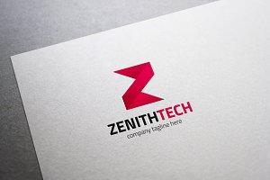 Zenith Tech Letter Z Logo