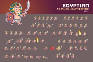 EGYPTIAN GAME SPRITE