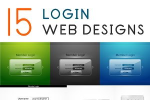 15 login web designs