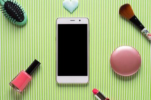 Smartphone and make up accessories