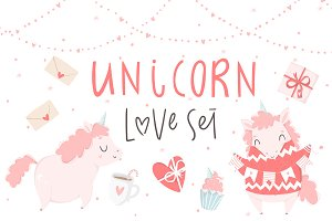 Unicorn - Love Set