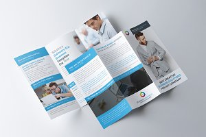 Corporate Brochure Print Template