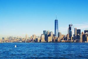 New York landscape skyline