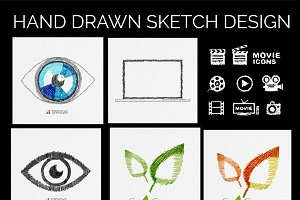 Icon sketch designs