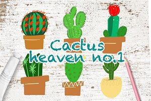 Cactus heaven illustration no.1