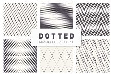 Dotted Seamless Patterns. Set 1