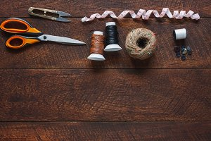 Tailor tools.