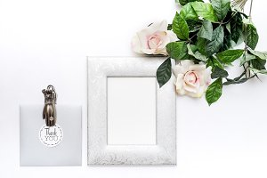 Feminine Styled Stock with Frame
