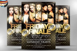 Friday Finale Flyer Template