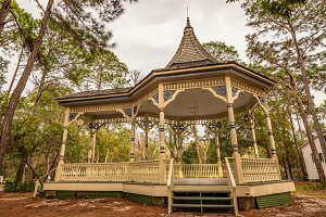 Williams Park Bandstand in the Pinellas County Heritage Village