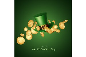 St. Patrick's Day card.