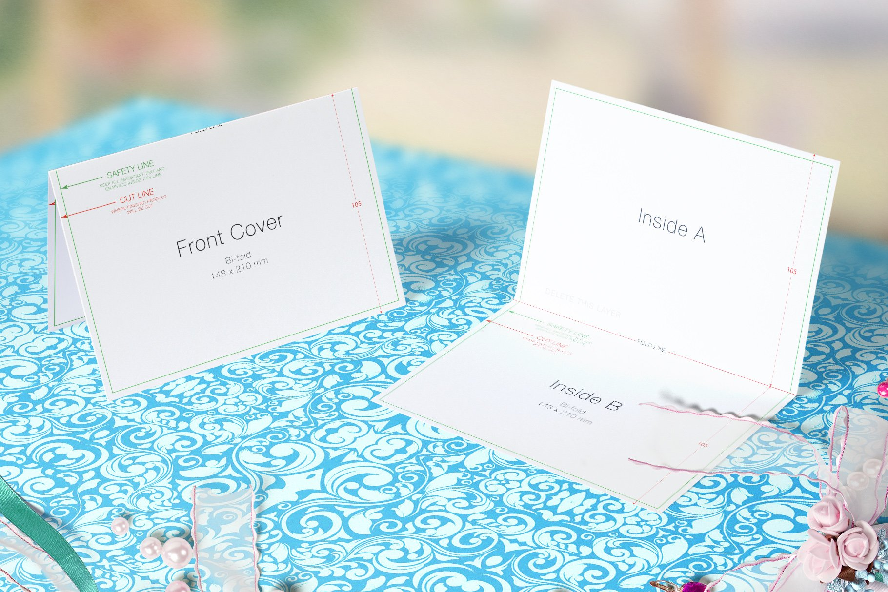 Wedding greeting cards mockups v3 product mockups creative previous m4hsunfo