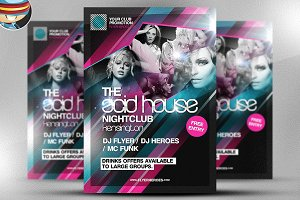 The Acid House Flyer Template