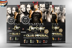 Burlesque Flyer Template