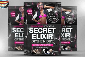 Secret Elixir Flyer Template