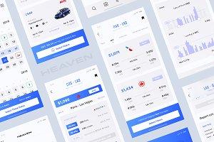 Heaven Mobile App UI Kit