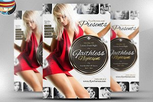 Faithless Nightspot Flyer Template