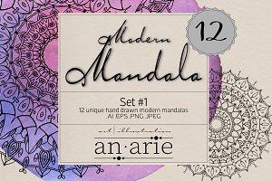 Modern Mandala Set 1 :: an.arie ::