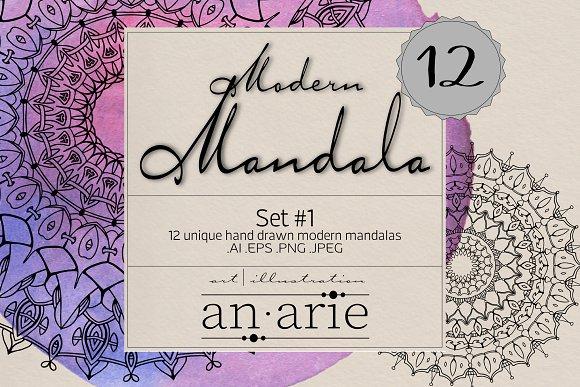 Modern Mandala Set 1 An.arie