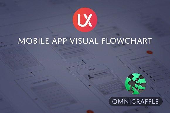Mobile App Visual Flowchart OG
