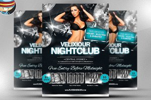 Velixiour Flyer Template