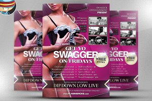 Get Yo Swagger On Flyer Template