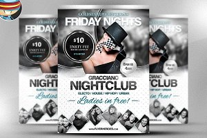 Gracciano Flyer Template