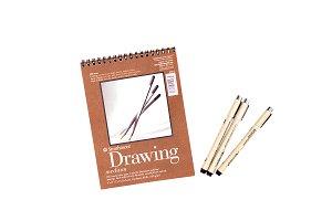 Art Supplies Drawing Pad 09