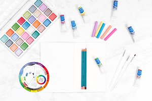 Art Supplies Stock Photos 04