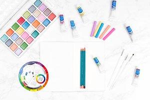 Art Supplies Stock Photos 04