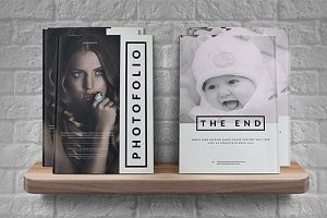 A4 Photofolio template