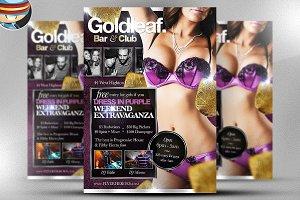 Goldleaf Flyer Template