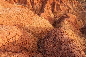 Interesting Desert Landscape