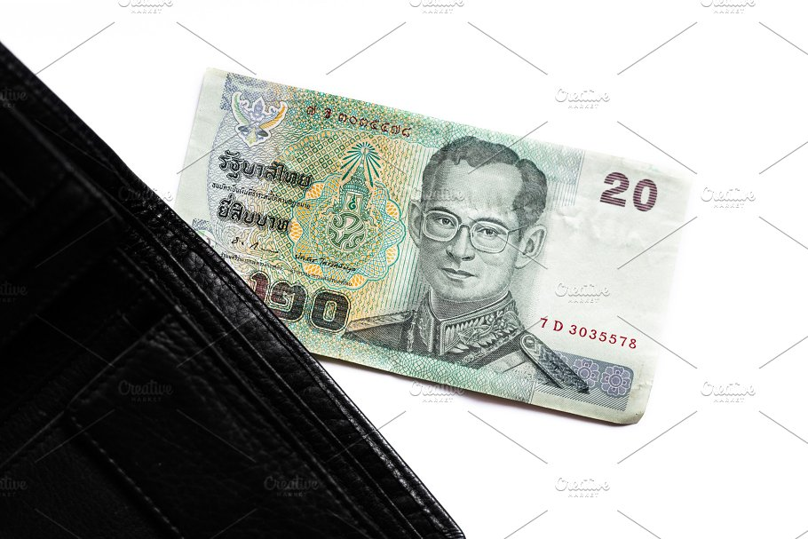 Thai Baht Currency Of Thailand Business Images Creative Market