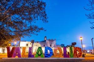 Valladolid at Night