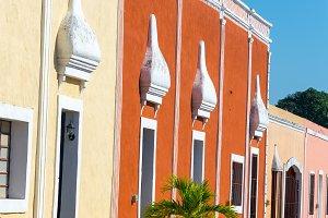 Colorful Buildings in Valladolid