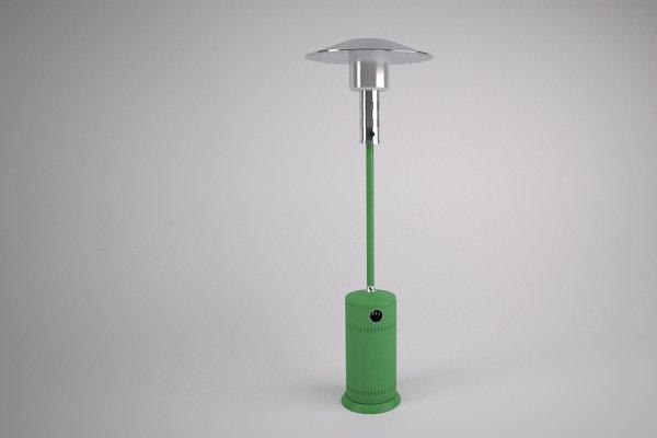 3D Appliances: Graphics834 - Patio Heater