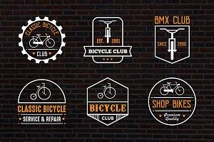 Bicycle Vintage logo & Badge