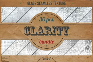 30 Glass HD Textures XL Bundle