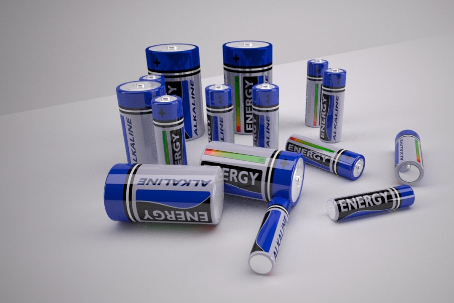 Alkaline Batteries in Objects - product preview 8
