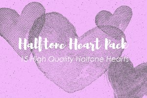 Halftone Heart Pack