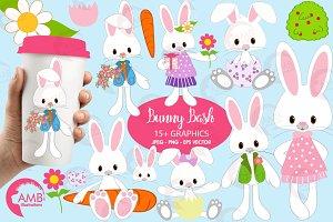 Easter Bunny Clipart AMB-370