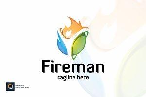 Fireman - Logo Template