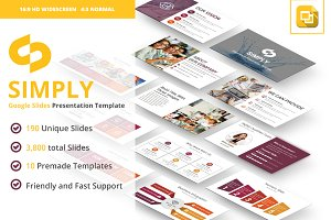 Simply Google Slides Template