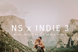 NS x Indie 3 // 5 Presets LR