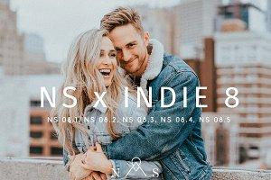 NS x 8 Indie // 5 Presets LR