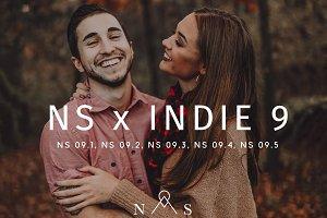 NS x Indie 9 // 5 Presets
