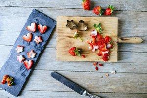 Short strawberries