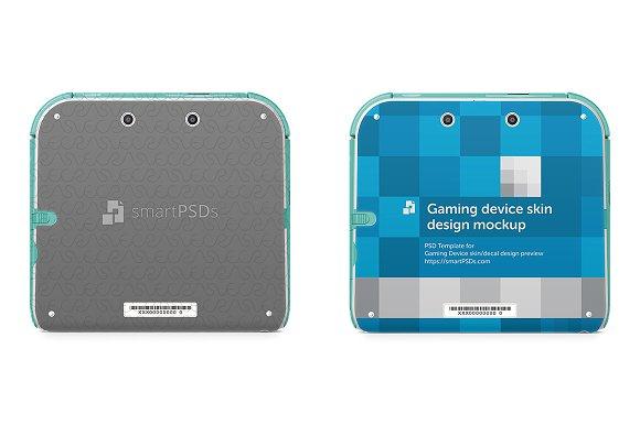 Nintendo 2DS Skin Decal Design ~ Product Mockups ~ Creative Market