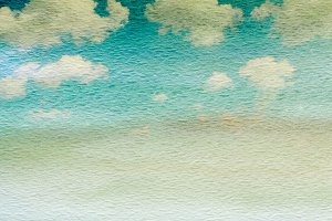 Sky grunge paper background
